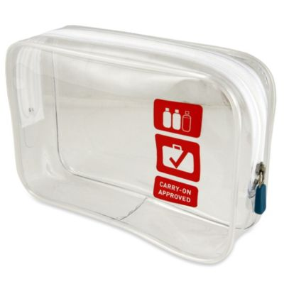 Flight 001 Carry On Clear Quart Bag