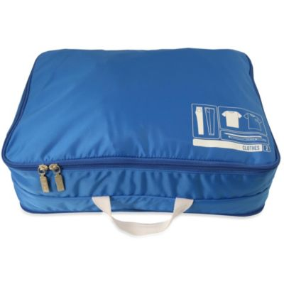Flight 001 Spacepak Clothes Packing Sleeve in Blue