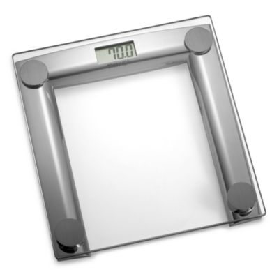 Thinner® Glass and Chrome Digital Scale