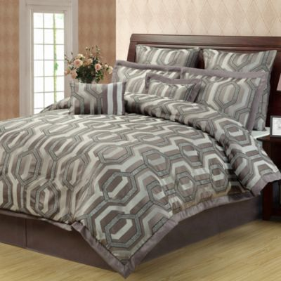 Hexagon 8-Piece Comforter Set