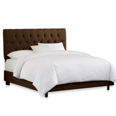 Skyline Furniture California King Tufted Bed Furniture