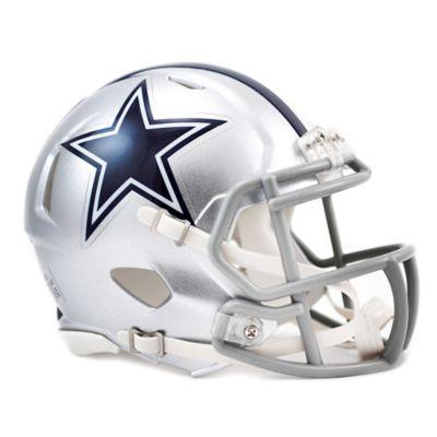 Silver Blue Mini Helmet