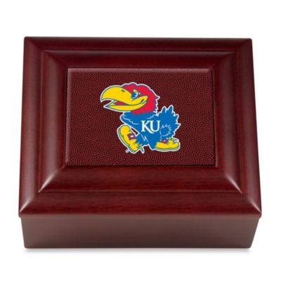 Kansas University Jayhawks Keepsake Box