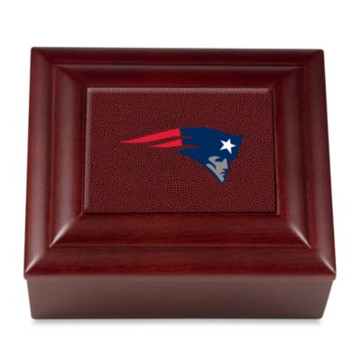 NFL New England Patriots Keepsake Box