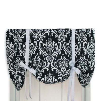 RL Fisher Champion Tie-Up Valance in Black