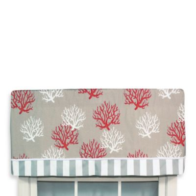 RL Fisher Los Corales Valance in Orange