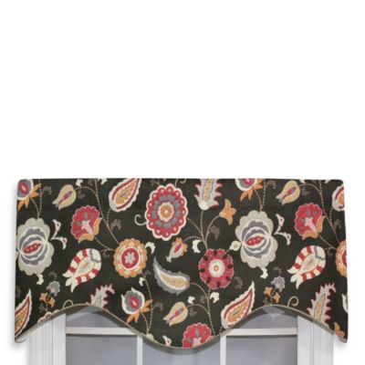 RL Fisher 52-Inch by 17-Inch Fauna Cornice Valance in Meadow