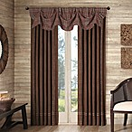 Cedar Ridge Clinton Falls Lined Rod Pocket/Back Tab Window Curtain Panels and Valance