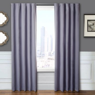 Blackout Window Treatment Set with Hardware