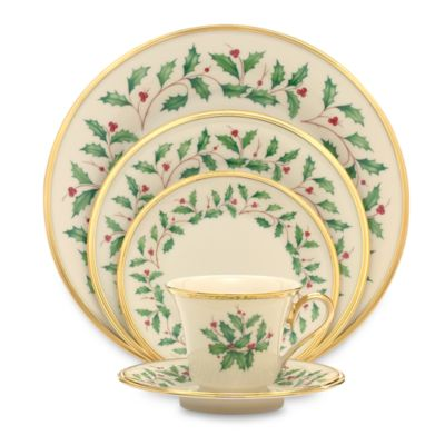 Lenox® Holiday™ 5-Piece Place Setting