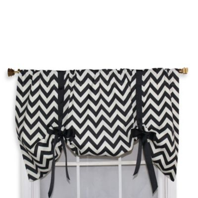RL Fisher52-Inch Zig-Zag Rambling Tie-Up Valance