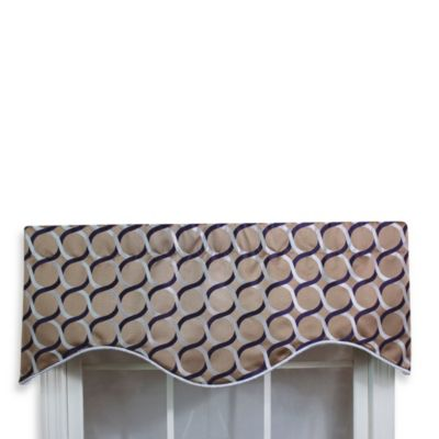 Plum Valances
