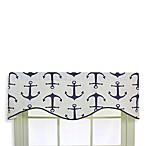 RL Fisher Anchors Away Cornice Valance