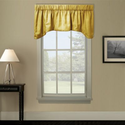 Hampton Bay Arch Valance in Antique Gold