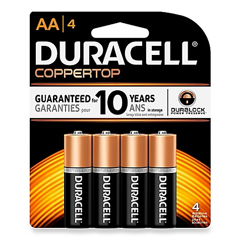 duracell aa battery 4 pack. Black Bedroom Furniture Sets. Home Design Ideas