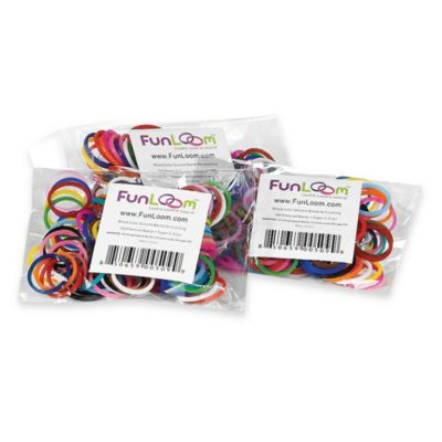 FunLoom™ Assorted Silicone Bands Refill Pack