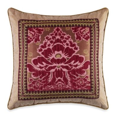 Croscill® Fuchsia Square Throw Pillow