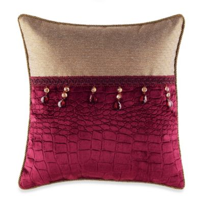 Croscill® Fuchsia Fashion Toss Pillow
