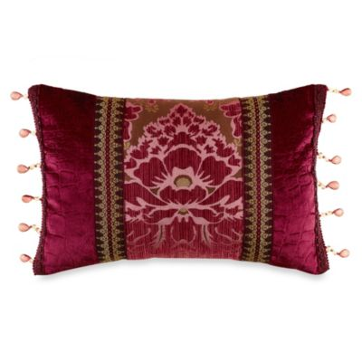 Croscill® Fuchsia Boudoir Toss Pillow