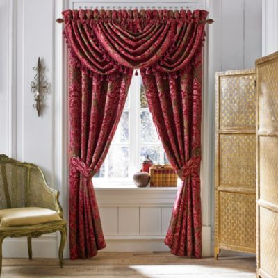 Croscill® Fuchsia Waterfall Window Valance