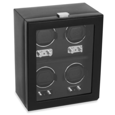 Wolf Designs® Heritage 4-Piece Watch Winder