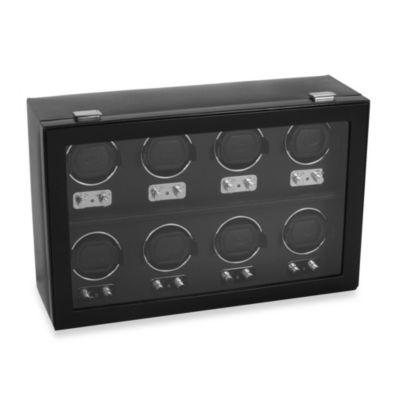 Wolf Designs® Heritage 8-Piece Watch Winder