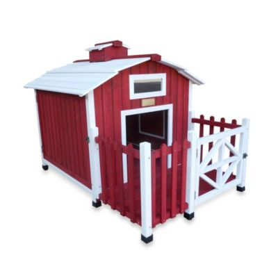 "The Advantek ""Country Barn"" Dog House"