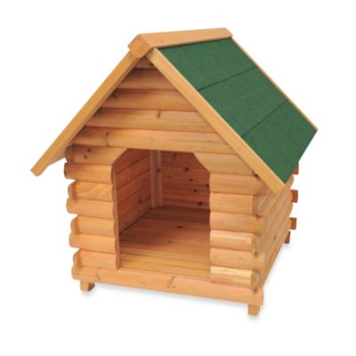 "Advantek ""Mountain Cabin"" Small Dog House in Honey"