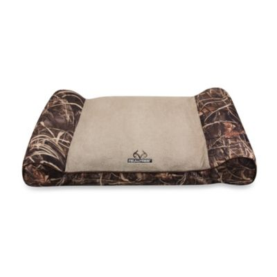 Realtree® Max-4 Camo Giant Pet Bed in Brown