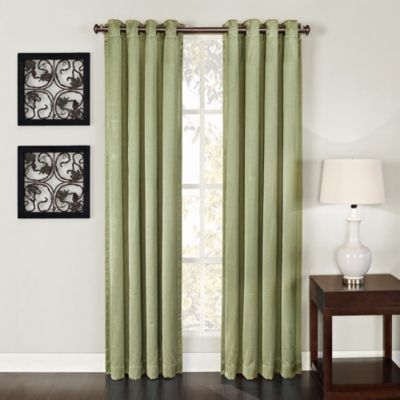 Green Window Curtains