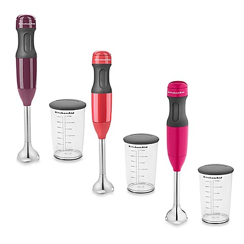 Kitchenaid 174 2 Speed Hand Blenders With 3 Cup Covered