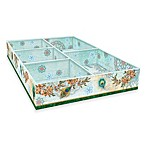 Royal Peacock 5-Compartment Tray