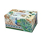 Royal Peacock Boxed Tissues