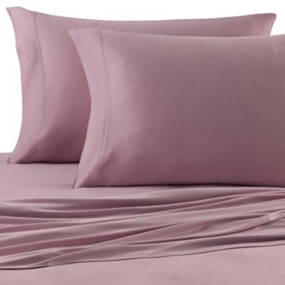 Pure Beech® Jersey Knit Twin Sheet Set in Lilac