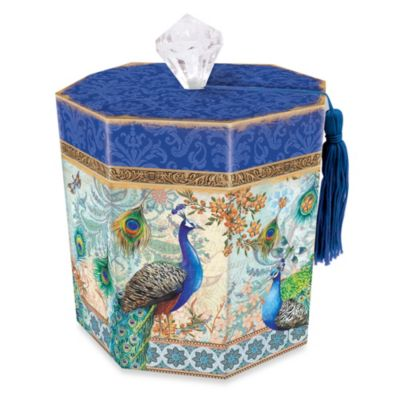 Toilet Tissue Holder in Royal Peacock