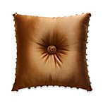 Austin Horn Classics Verona 18-Inch Square Toss Pillow in Gold