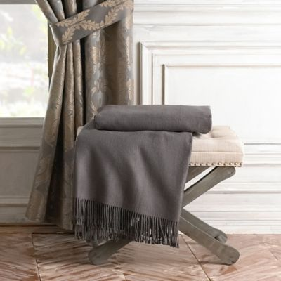 Waterford® Linens Connemara Throw in Graphite