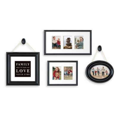 Beyond Words 6-Piece Hanging Wall Frame Set