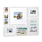 Wallverbs™ 6-Piece Coastal Box Frame Set in White