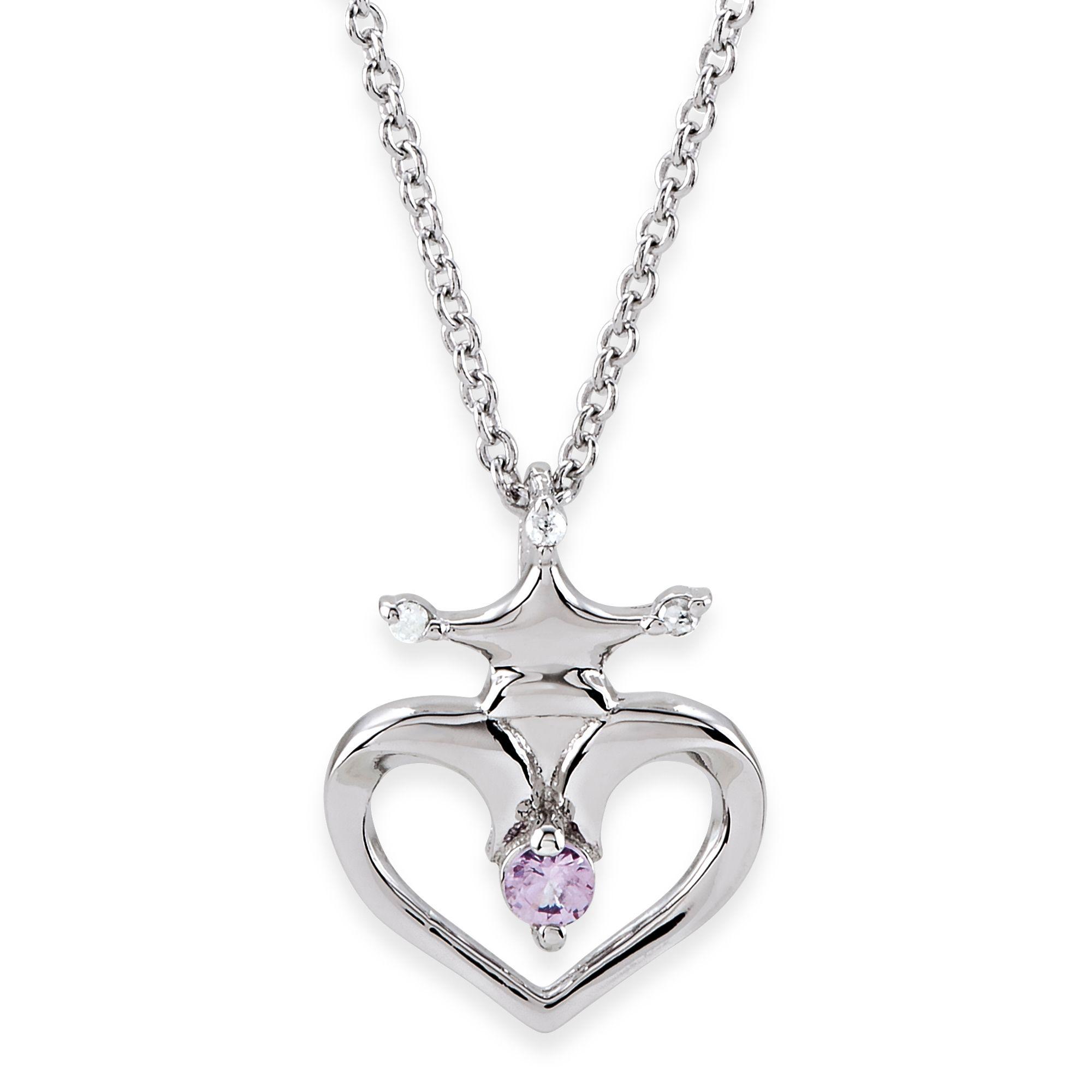 Disney® Sterling Silver Pink