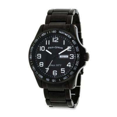 Field & Stream Men's Bracelet Watch in Black