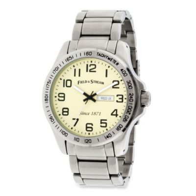 Field & Stream Men's Bracelet Watch in Beige