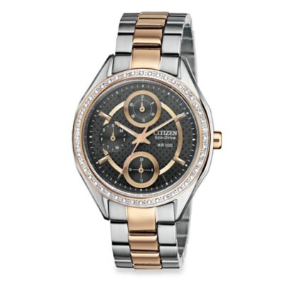 Citizen Ladies Drive from Eco-Drive Two-Tone Stainless Steel Bracelet