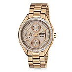Citizen Ladies Drive from Eco-Drive Rose Gold-Tone SS Bracelet with Swarovski® Crystal