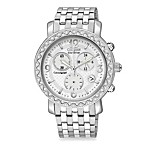 Citizen Ladies Drive from Eco-Drive Stainless Steel Bracelet with Swarovski® Crystal