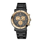 Citizen Ladies Drive from Eco-Drive Ion-Plated Stainless-Steel Chronograph in Black