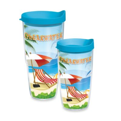 Tervis® Clearwater Beach 16-Ounce Wrap Tumbler with Lid