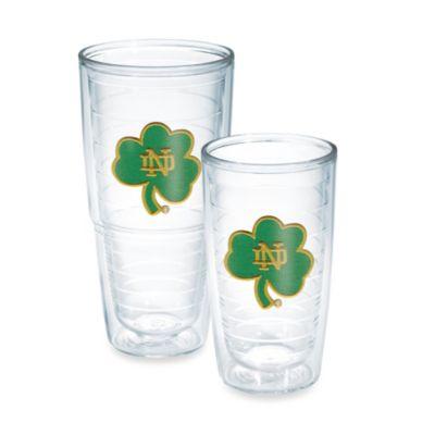 Tervis® Notre Dame Shamrock Emblem 16-Ounce Tumbler