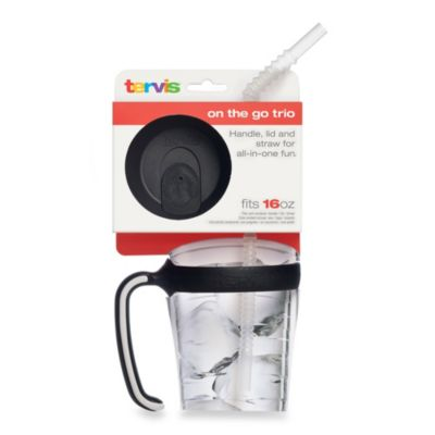 Tervis® 16-Ounce Tumbler Lid, Handle and Straw Bundle Pack