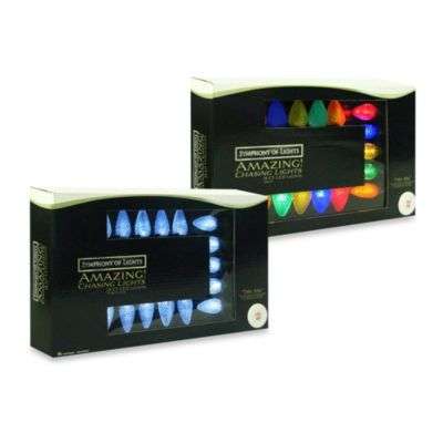 Brite Star 15-Count LED Chasing Lights in Multicolor